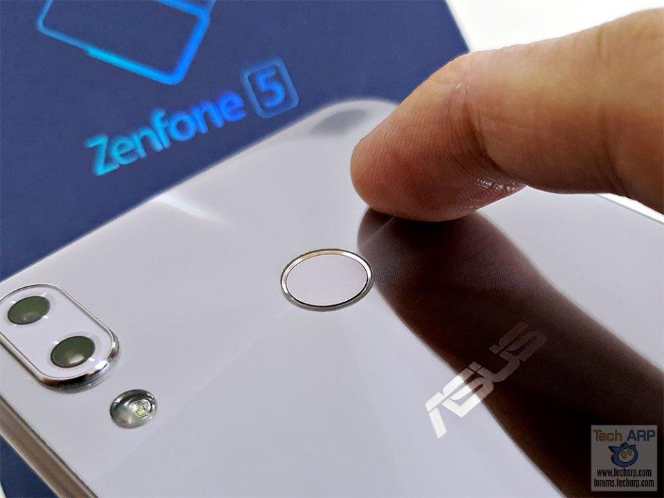 ASUS ZenFone 5 ZC620KL fingerprint sensor