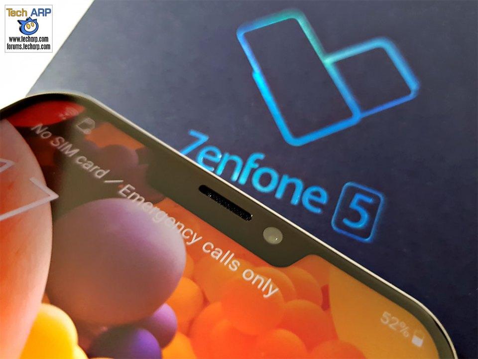 ASUS ZenFone 5 ZC620KL front camera