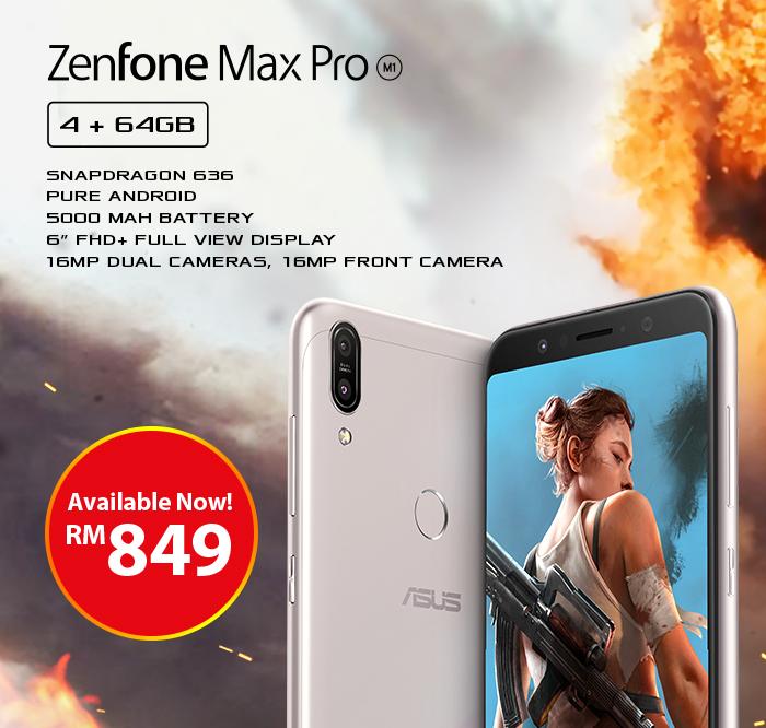 ASUS ZenFone Max Pro M1 4GB