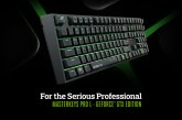 MasterKeys Pro L GeForce GTX Edition Keyboard Revealed!