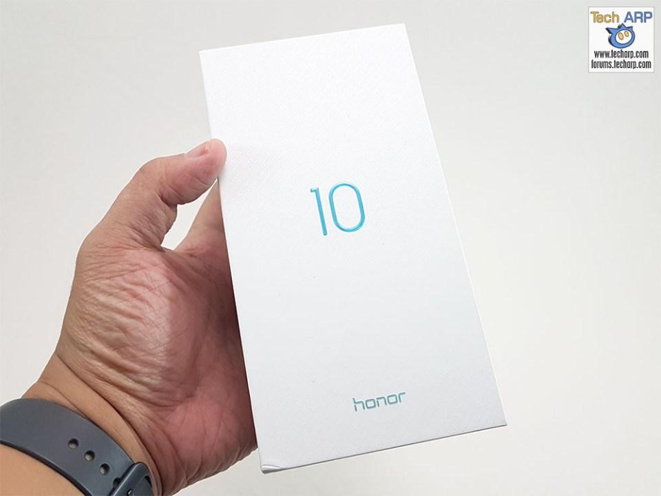 Honor 10 box