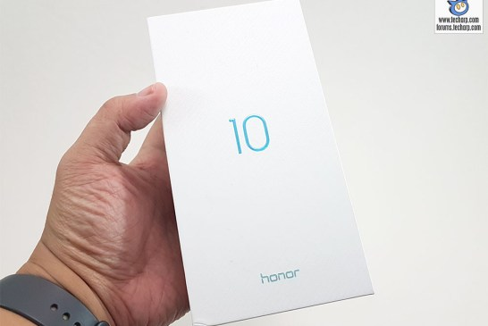 Honor 10 box