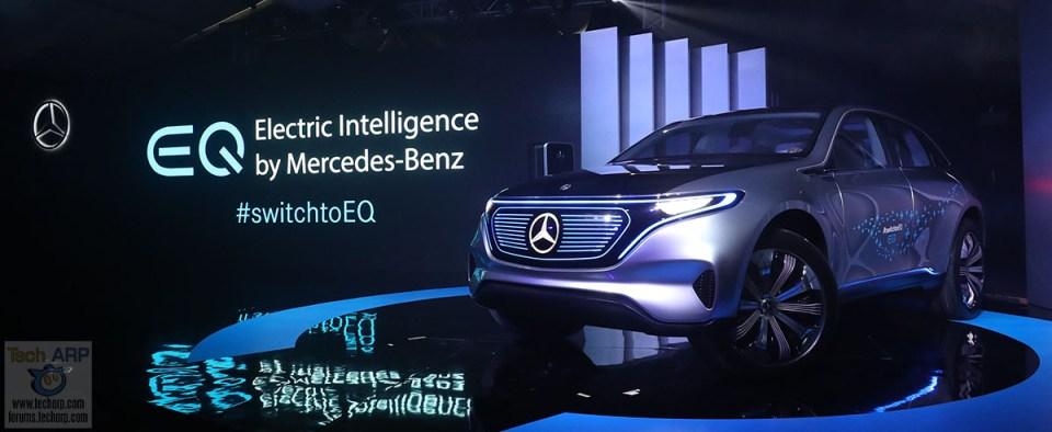The Mercedes-Benz Concept EQ Showcase + Test Drive!