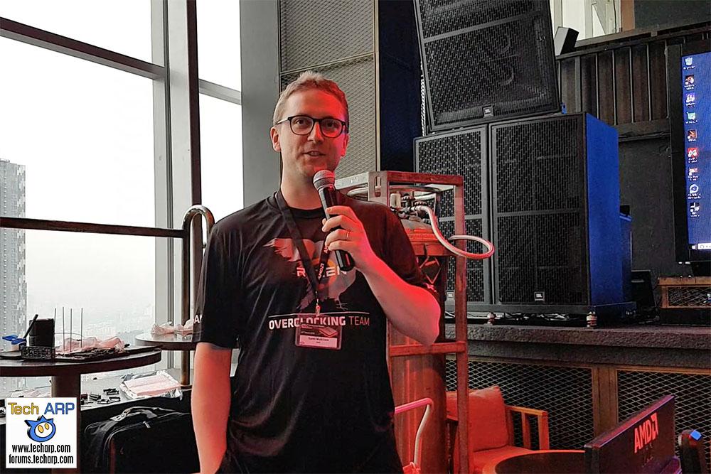 Sami Makinen : How To Overclock The 2nd Gen Ryzen | Tech ARP