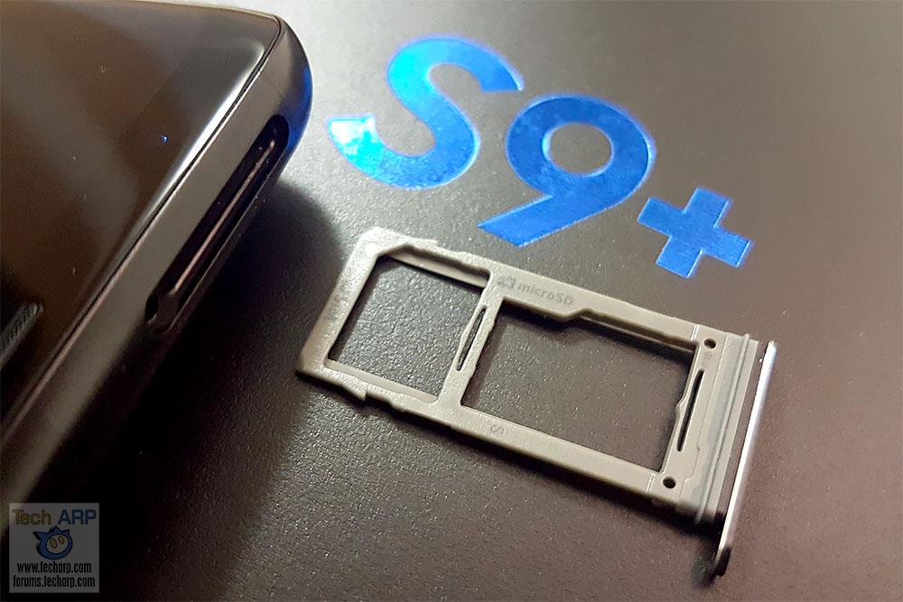 Samsung Galaxy S9 Plus hybrid SIM