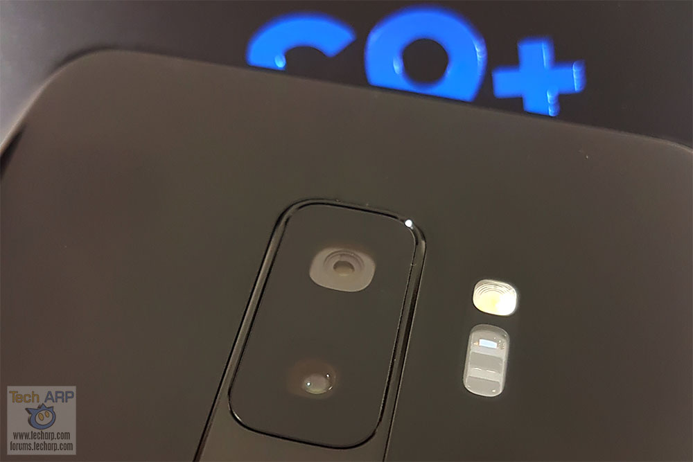 Samsung Galaxy S9 Plus main camera