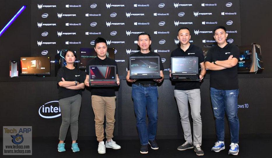 2018 Acer Predator Laptops, Desktops, Monitors Revealed!