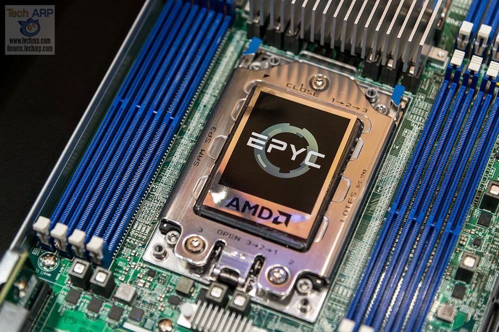 The AMD 7nm EPYC Processor Update + First Look!