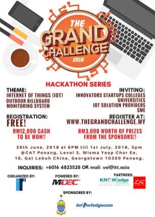 Grand Challenge 2018 Hackathon 01 - Penang