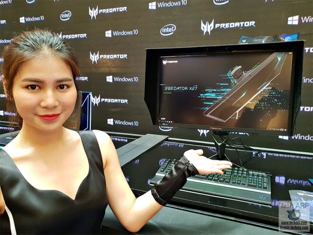 Acer Predator X27 G-SYNC HDR Monitor Preview