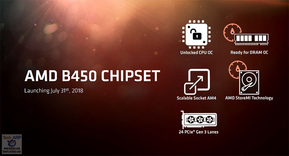 AMD B450 Chipset Explained with Official AMD Tech Briefing! - The