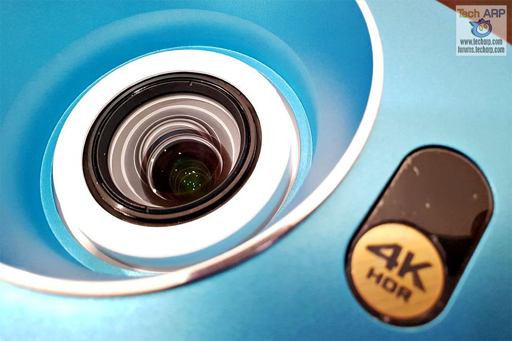 BenQ TK800 lens