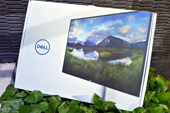 Dell S2719DM HDR monitor box