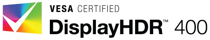 DisplayHDR 400 logo