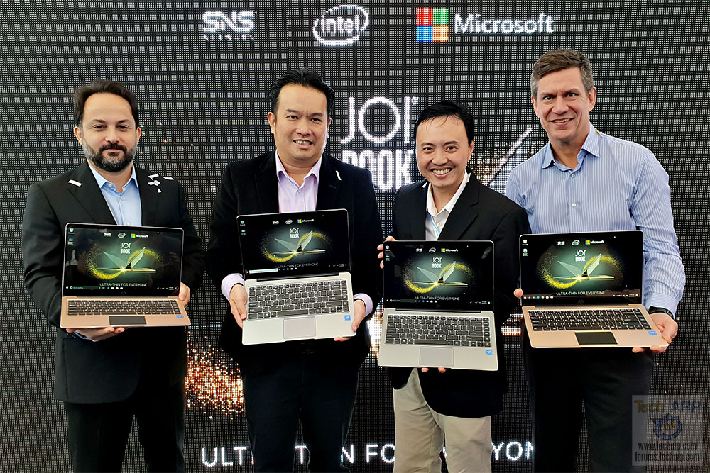 JOI Book 100 Ultra-Thin Laptop Debuts