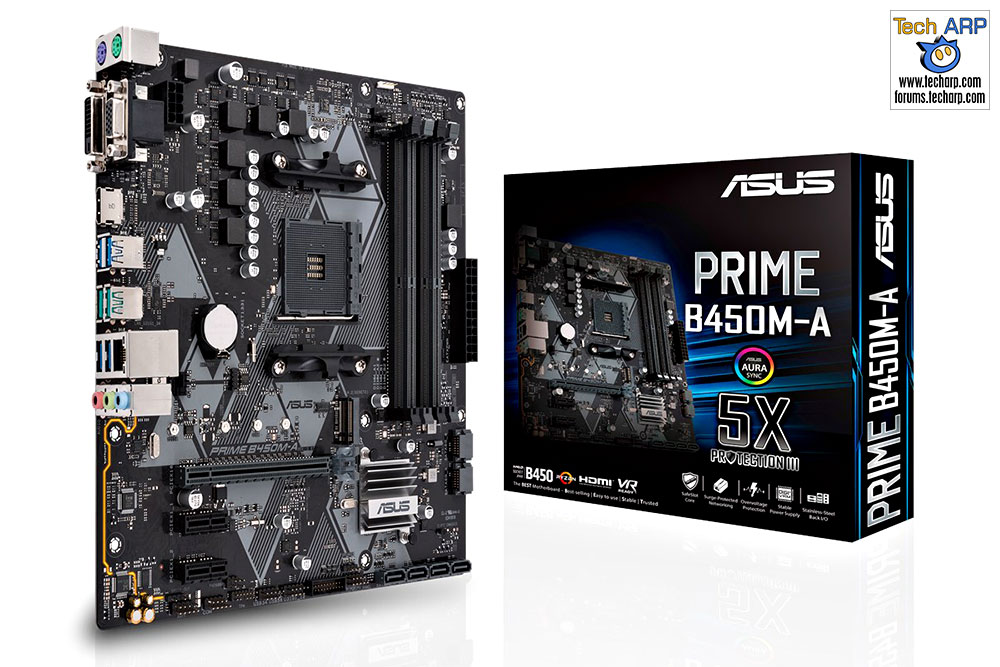 ASUS B450 Motherboard - ASUS PRIME B450M-A