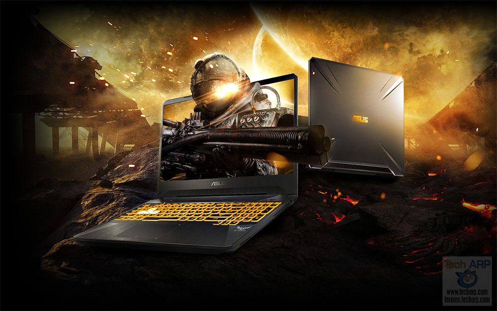 ASUS TUF Gaming FX505 Gaming Laptop Preview