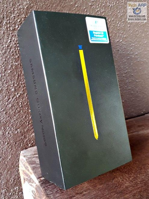 Samsung Galaxy Note9 box 01