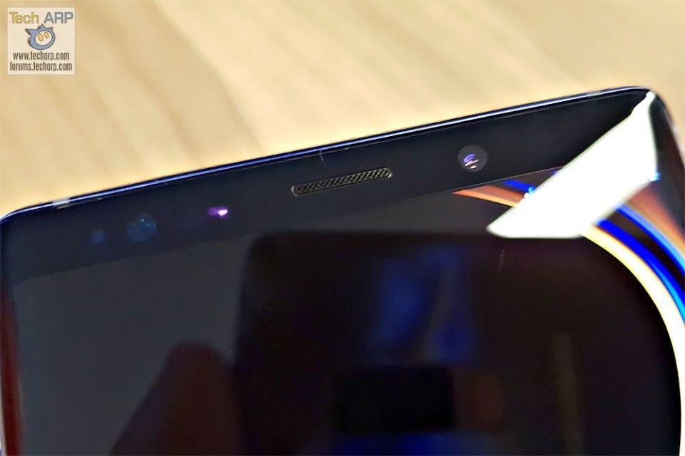 Samsung Galaxy Note9 front camera