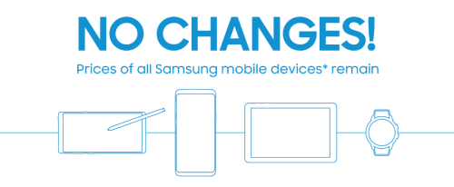 Samsung mobile devices no SST