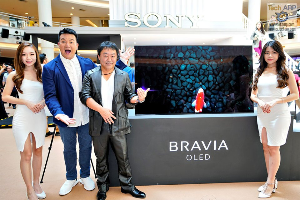 The Sony A9F MASTER Series 4K HDR OLED TV Revealed!
