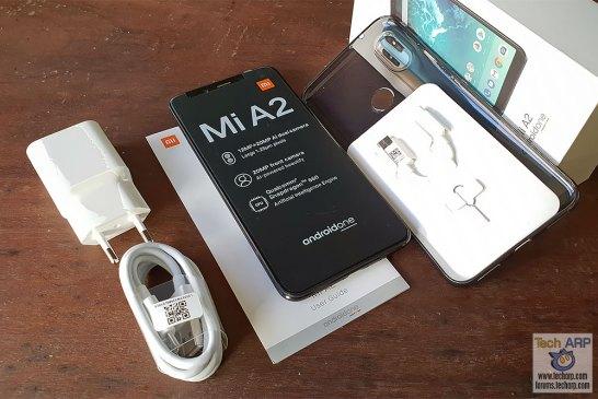 Xiaomi Mi A2 box contents