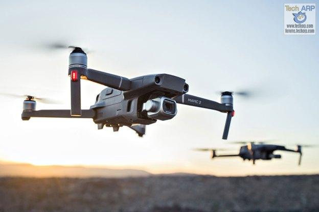 DJI Mavic 2 Pro in flight