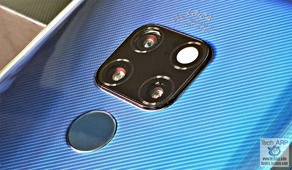HUAWEI Mate 20 with Triple Leica Cameras Preview