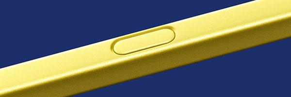 Samsung Galaxy Note9 S Pen button
