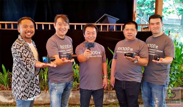Sony RX100 VI launch
