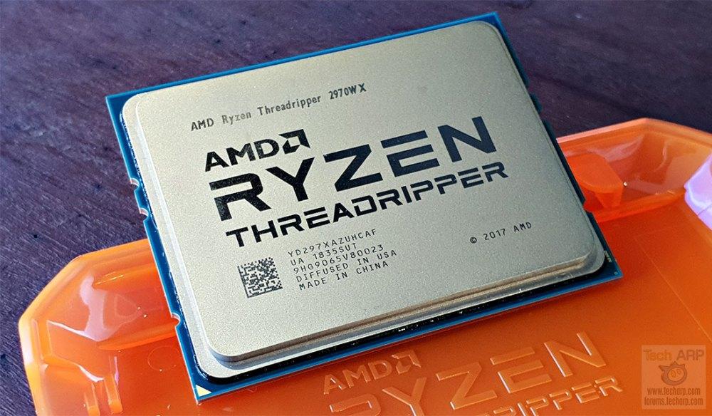 AMD Ryzen Threadripper 2970WX Preview