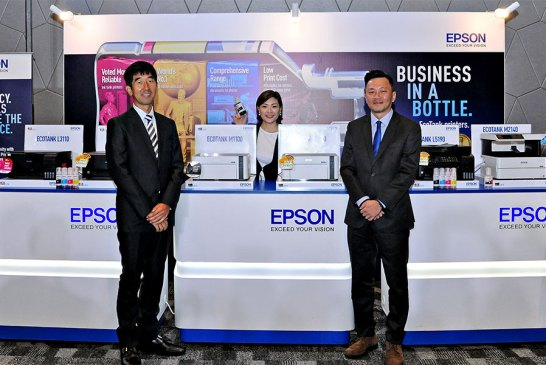 The Epson EcoTank Colour + Monochrome Printers Revealed!