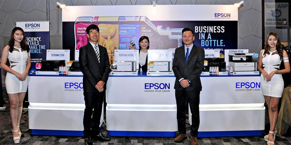 Epson EcoTank Colour + Monochrome Printers Revealed!