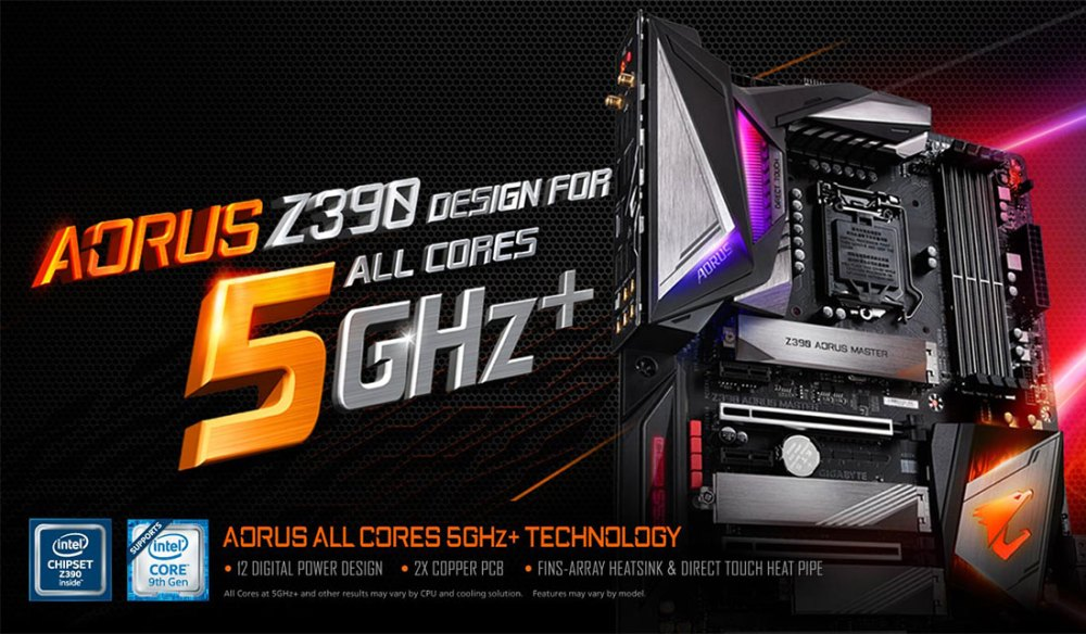 GIGABYTE Z390 AORUS XTREME Motherboard Revealed!