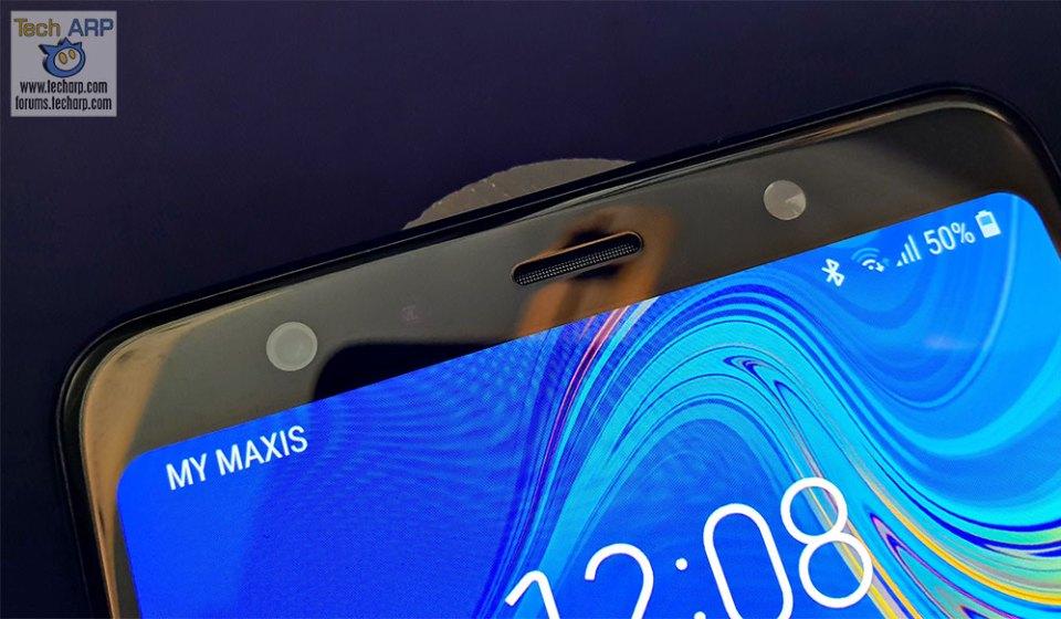 Samsung Galaxy A7 2018 front camera