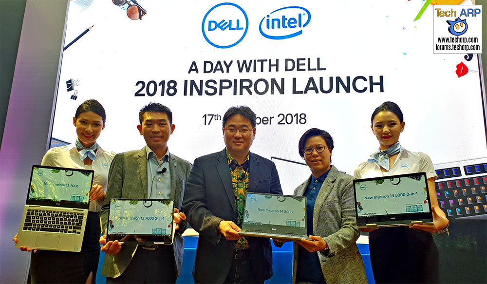Dell Showcases New 2018 Inspiron 5000 + 7000 Laptops! | Tech ARP