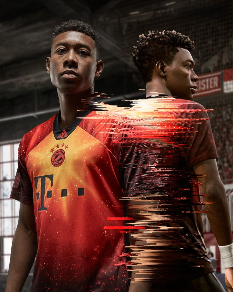 adidas Football EA SPORTS limited edition jersey FC Bayern