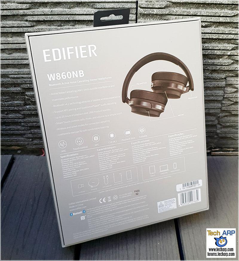 deb33a9cdc4 Edifier W860NB Active Noise Cancelling Headphones Review! - Tech ARP