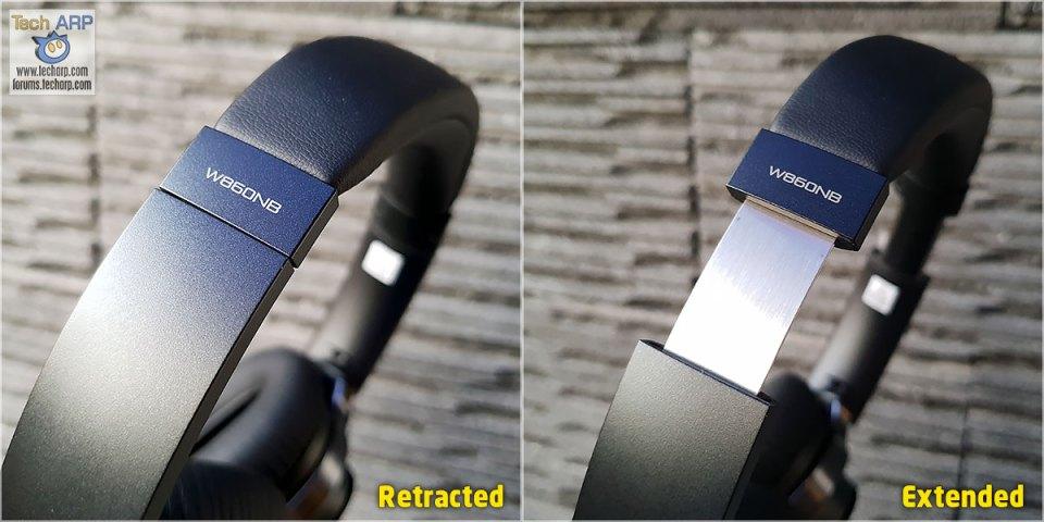 Edifier W860NB headband extension