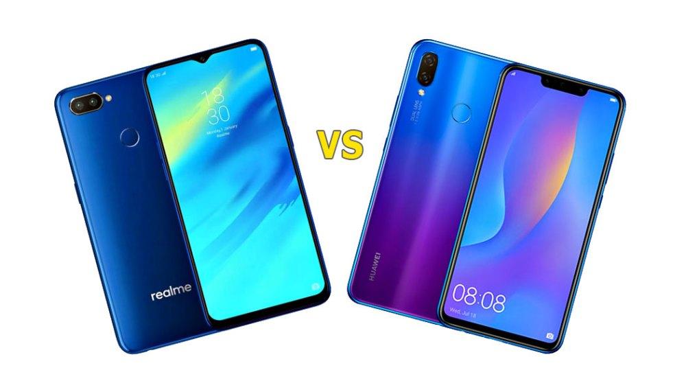 Realme 2 Pro vs. HUAWEI nova 3i