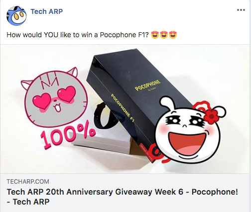 Tech ARP 20th Anniversary Week 6 Giveaway