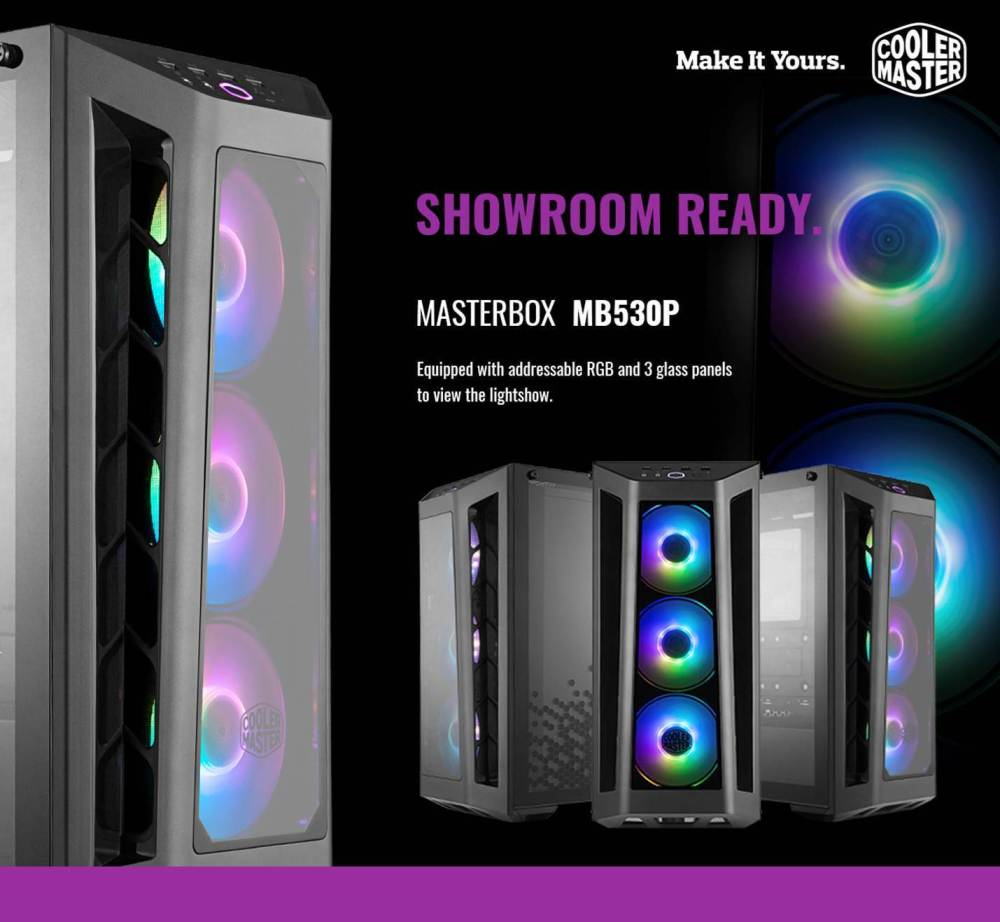 Cooler Master MasterBox M530P