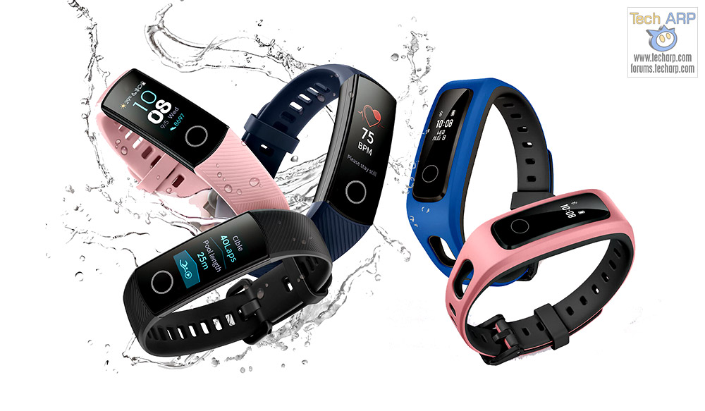 HONOR Band 4 + Band 4 Running Revealed