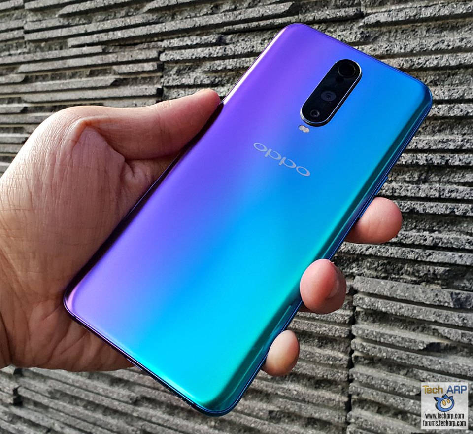 OPPO R17 Pro 3D misted glass