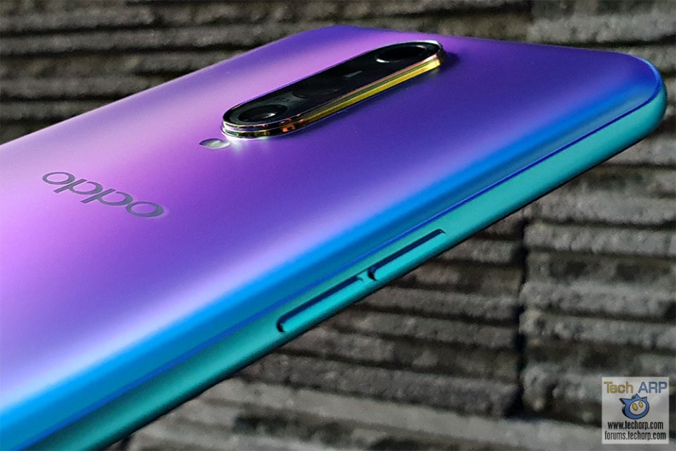 OPPO R17 Pro Volume buttons