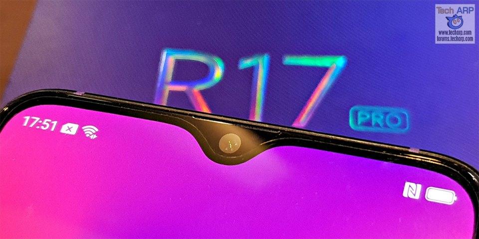 OPPO R17 Pro waterdrop notch