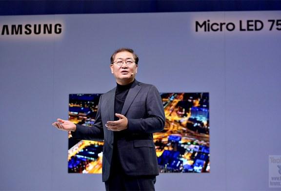 Bezel-less Samsung Micro LED Displays Revealed!