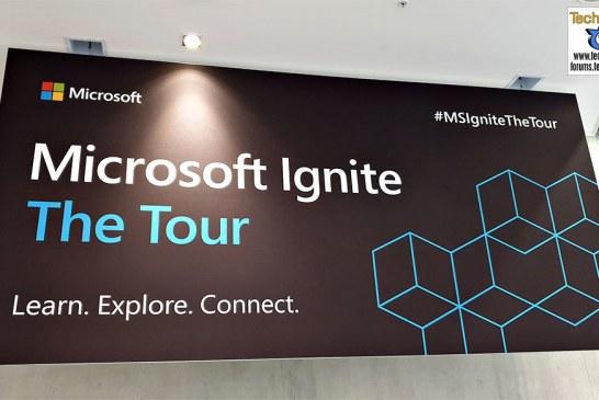 The 2019 Microsoft Ignite – A Quick Tour!