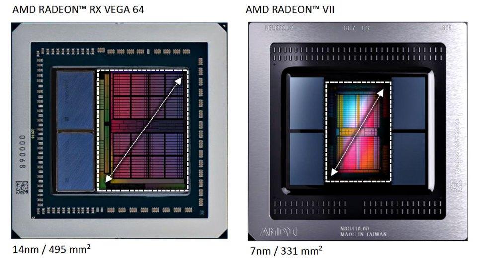 AMD-Radeon-VII---RX-Vega-Die-Comparison