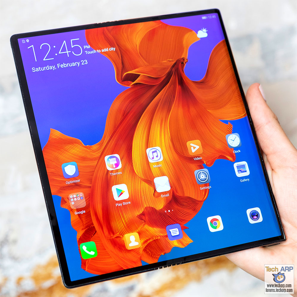 The HUAWEI Mate X - World's Fastest 5G Foldable Phone!